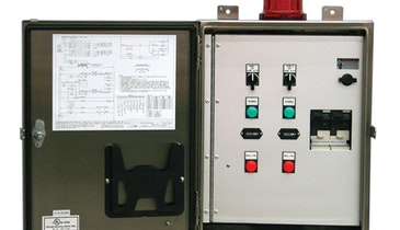 Industrial-Grade Control Panel for Three-Phase Pumps
