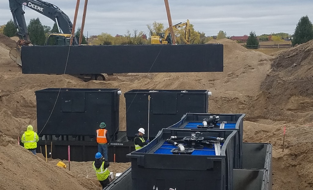 Tips for Excavating and Setting Septic Tanks