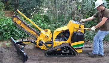 Vermeer introduces new pedestrian trencher for rental industry