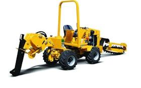 Vermeer ride-on service plow