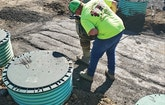 Frank's Septic Services Installs Big Tanks, Thousands of Feet of Dripline and UV System in Campground Project