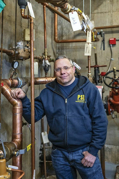 Reading, Experience Help Plumber Take Company to New Heights