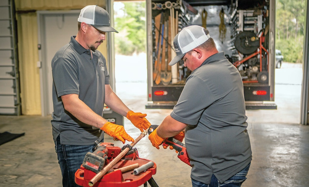 Plumbing Firm Adds Services to Become One-Stop Shop for Customers