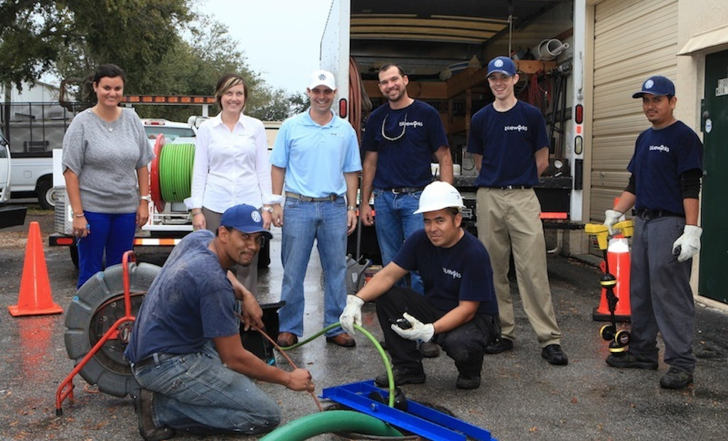 BlueWorks Finds Big Success Lining Small Pipes