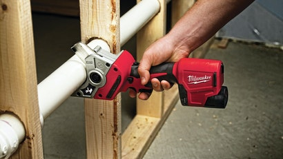 Tool Makes Cutting Pipe Easier, Cleaner for Plumbing Contractor