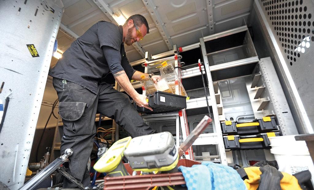 Storage Options Keep Trucks, Vans More Productive
