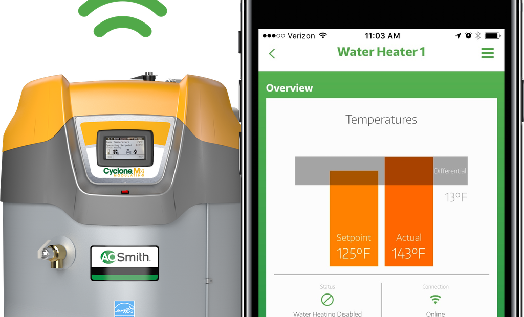 Provide Customers Remote Connectivity to Their Water Heaters