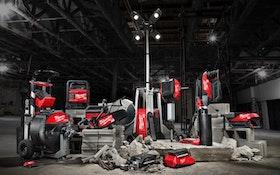 Milwaukee Tool Announces New Cordless System Designed For Light Equipment