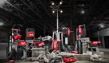 Milwaukee Tool Announces New Cordless System Designed For Light Equipment