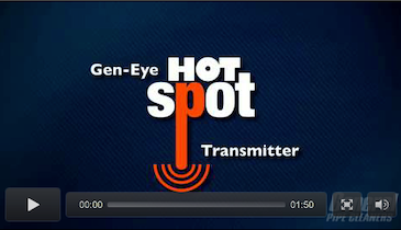 Hot-Spot Transmitter Powers Up Your Locating