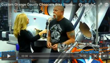 Custom Orange County Choppers Bike Shines at 2014 Expo