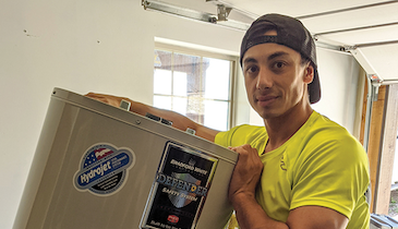 Bradford White Water Heaters Continues Support of Olympic Snowboarder