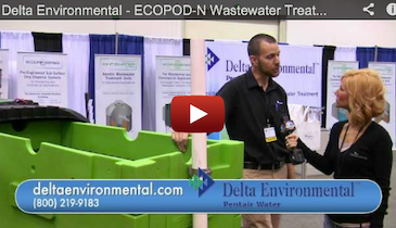 Delta Environmental - ECOPOD-N Wastewater Treatment - 2012 Pumper & Cleaner Expo