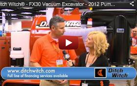 Ditch Witch® - FX30 Vacuum Excavator - 2012 Pumper & Cleaner Expo