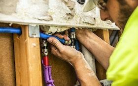Push-Fit PEX Speeds Up Repipe Job at Apartment Complexes