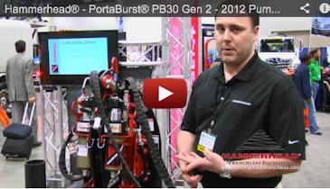 Hammerhead® - PortaBurst® PB30 Gen 2 - 2012 Pumper & Cleaner Expo