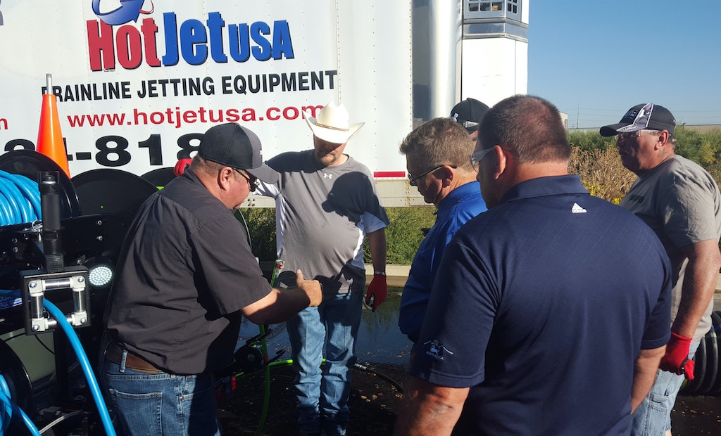 Prepping for Drainline Cleaning Success Requires Hands-On Equipment Operation and Safety Training