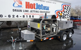 Diesel Trailer Jetter Offers Affordable High-Output Alternative for Plumbers