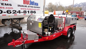 HotJet III Jetter Offers Powerful Flushing for Cleaning, Disinfecting and Sanitizing for COVID-19