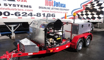 Quick Spotlight on the HotJet II Trailer Jetter