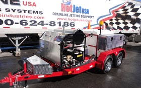 The HotJet II is a True Hybrid Machine