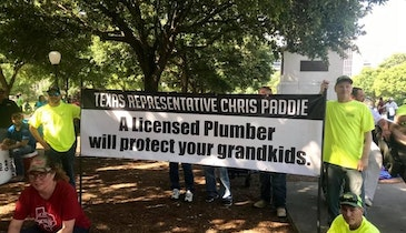 Texas Governor Revives State's Plumber Licensing Board