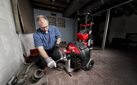 Cordless Drain Cleaning Machines Create Less Hassle, More Service Calls