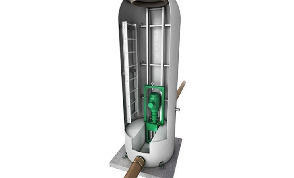 Prepackaged Grinder Manholes for Retrofitting Problem Pump Stations