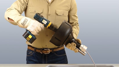 The New PD-25 Auto Handy with Automatic Feed is Both a Hand Tool and a Power Tool