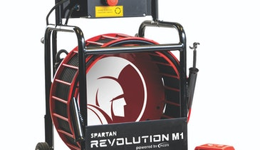 The New Spartan Revolution Drain Cleaning Machine is a Game Changer
