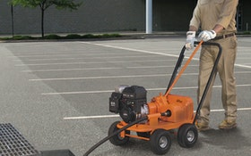 Gas-Powered Drain Cleaner Offers Clog-Busting Power in Large Lines and Long Runs