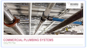 Commercial Plumbing Systems using PEX pipe