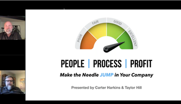People, Process, Profit – Make the Needle Jump in Your Company