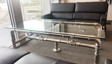 Custom Coffee Tables Showcase Plumbing Fittings