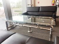 Custom Coffee Tables Showcase Plumbing Fittings