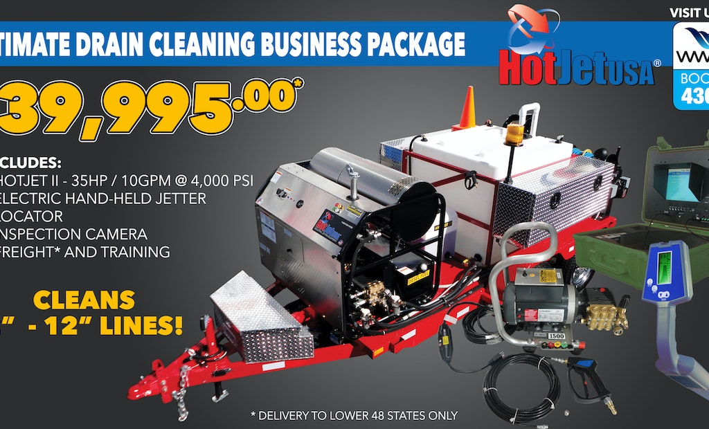 WWETT Show 2020 Preview: Add a Jetting Division to Your Plumbing Services