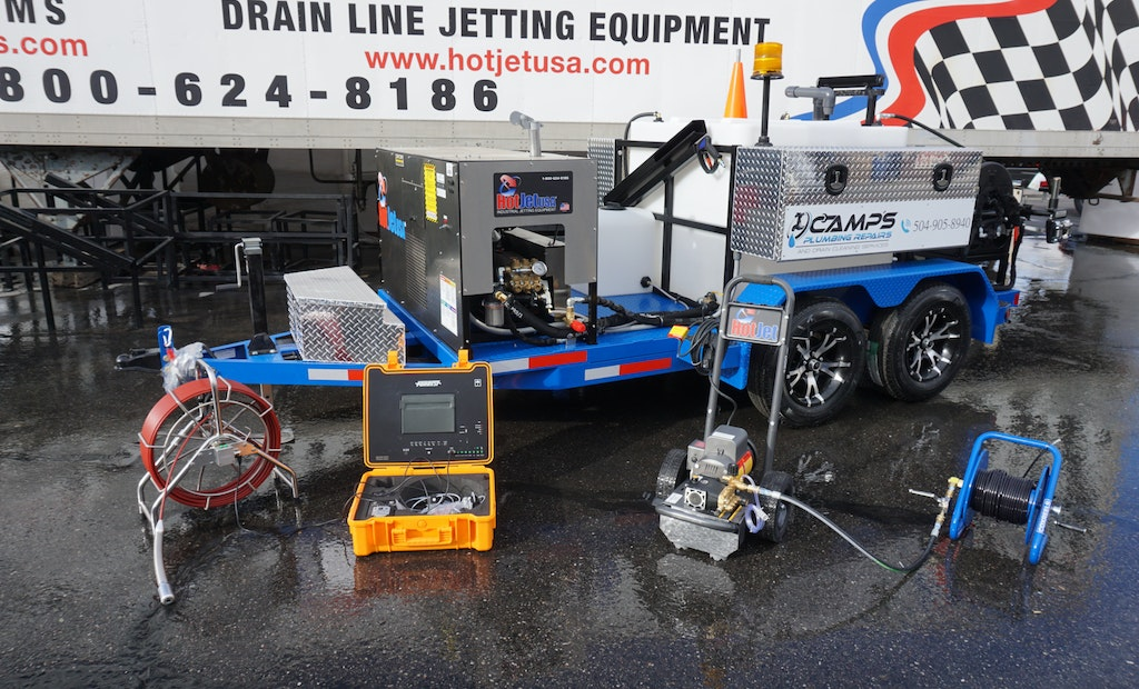 Looking for a New Cold-Water Trailer Jetter?