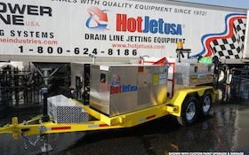 Need a Large Drainline Cleaner/Flusher?