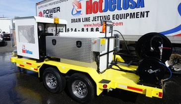 HotJet USA Introduces Yanmar to Diesel Trailer Jetter Lineup