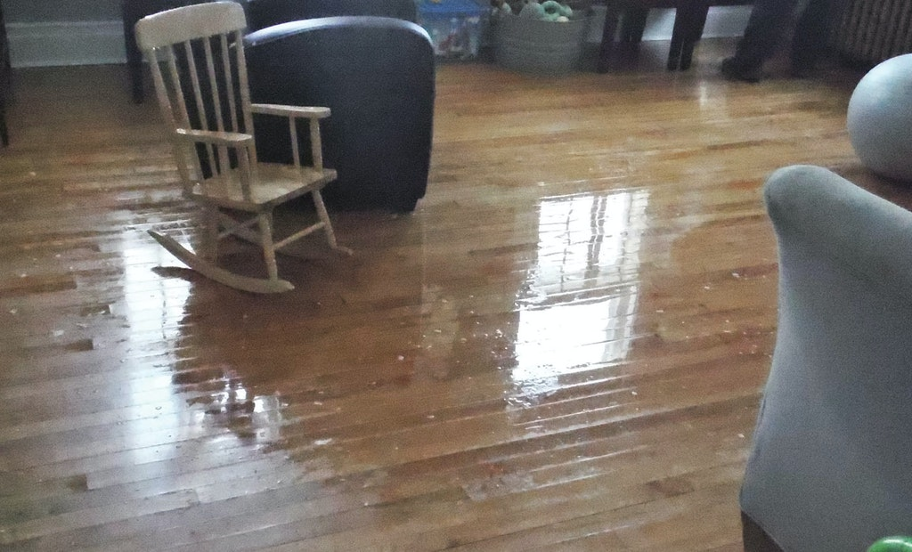 Four Month Cleanup Project Saves Home After Pipes Burst