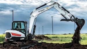 Excavating - Bobcat R-Series E85