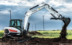 Excavating - Bobcat R-Series E85