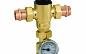 Caleffi thermostatic mixing valves