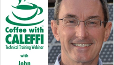 Coffee with Caleffi: Water Quality in Hydronic Systems