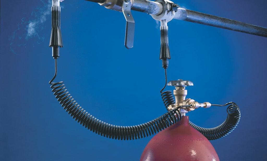 Pipe-Freezing Kit Repairs Broken, Fully Pressurized Lines in Historic Landmark
