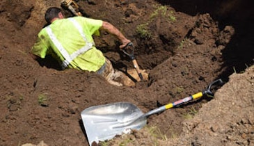 Indiana Plumber Survives Trench Collapse