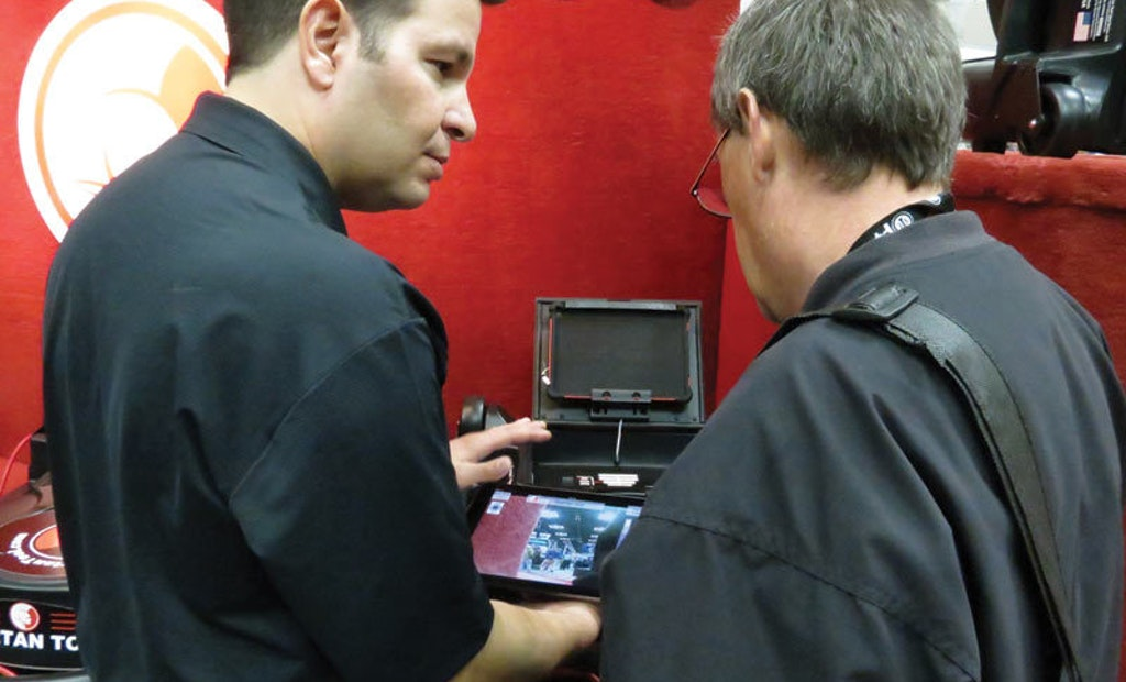 iPad Becomes Integral Part of This Real-World Inpsection Camera