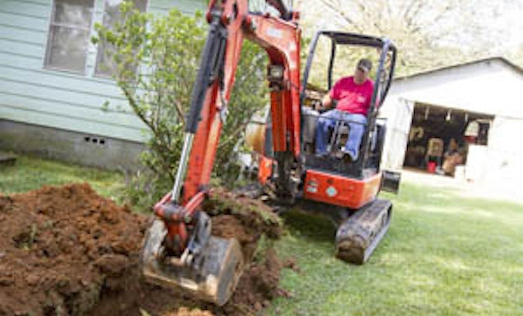 Mini-Excavators Add Productivity and Profitability