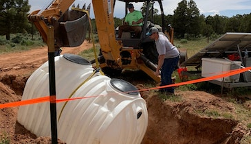 Philanthropic Plumbing Project Returns to Navajo Reservation