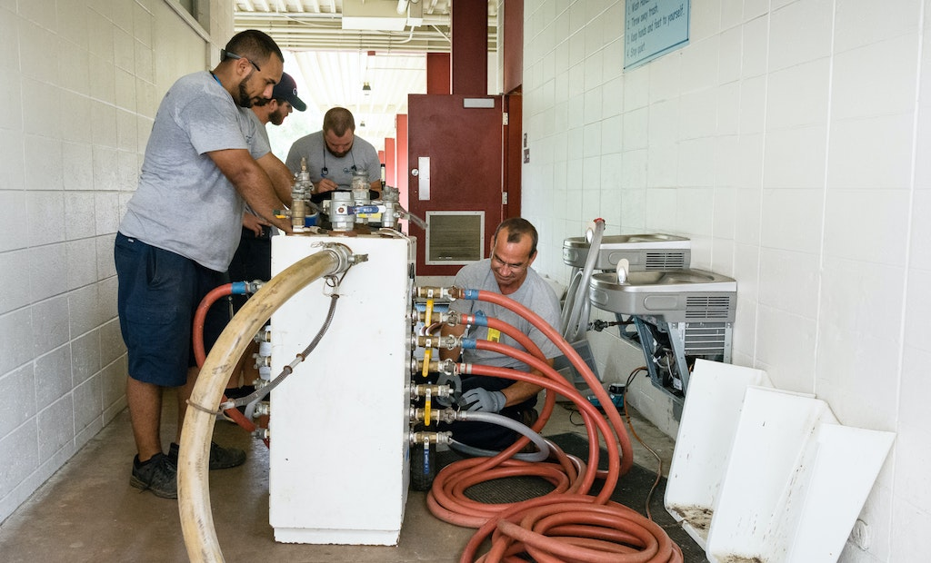 In Photos: Plumbing Contractors Out in the Field
